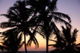 Sunset at Sinquerim Beach