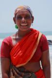 Asvem Beach saleswoman