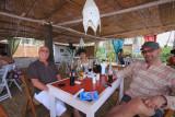 La Plage French restaurant, Asvem Beach