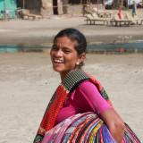 Arambol Beach saleswoman