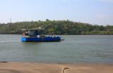 Terekhol River ferry