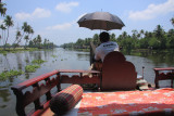 The Kerala Backwaters by houseboat
