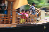 Kettuvallam (rice barge) houseboat