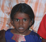 Large-eyed Tamil girl