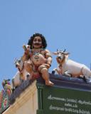 Temple carving, Nataraja Temple
