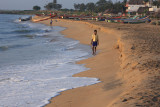 Mamallapuram beach at sunrise