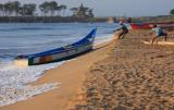 Mamallapuram beach at sunrise