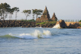 Shore Temple at sunrise