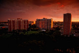Sunset, Balcony View