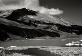 Moraine, Columbia Icefields, Jasper National Park, Alberta