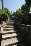 Stairs, Boldt Castle, Heart Island, Alexandria Bay, New York