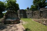 Fountain, Boldt Castle, Heart Island, Alexandria Bay, New York
