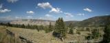 Yellowstone Panorama, South Of Mammoth Hot Springs, Wyoming