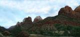 Dusk, Zion Canyon, Utah