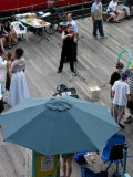 Musician, South Street Seaport (Fulton & South Streets), Pier 17, New York
