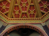 Detail Around Dome, Hockey Hall Of Fame