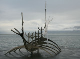 Tribute to viking explorations