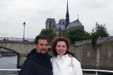 On the Seine towards Notre Dame