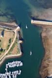 80 Port du Crouesty sortie de bateaux.