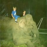 Michael at the circus