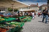 Le marché de Fribourg (Suisse - Switzerland)