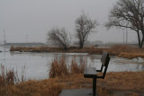 Foggy, Misty Morning at Oak Lake