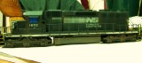 Weathering project of Norfolk Southern SD40-2 engine