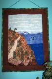 Mountain Road art quilt
