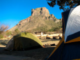 View of Casa Grande from our camp at Big Bend National Park