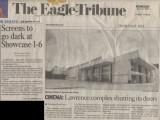 Aug. 27, 2008 Tribune article announcing closing