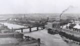 The B&L train bridge across the Merrimack built in 1880