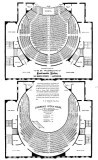 1881 Seating Chart for the Opera House