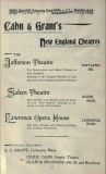 Ad for Opera House in Cahn's Guide