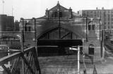 B&M (B&L) depot train shed behind Opera House