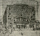 Artist rendition of the New Broadway Theater