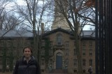 Me and Main Building of the Uni