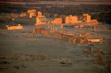 Sunset Over Palmyra