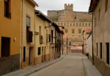 Street and Castle - Berlanga de Duero