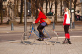 Bicycle and Skate