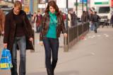 Girls at Alexanderplatz