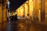 Cardenal Herrero Street by night