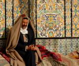 Man at  Mausoleum of Sidi Sahab - Kairouan