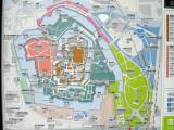 Map of Osaka Castle area