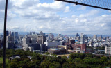 View from top floor of Osaka Castle
