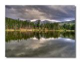 Evening at Sprague Lake