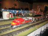 Model Train Display by Tinplate Trackers, Austin, Tx.
