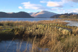 The Crom Mhin bridge and Loch Lomond