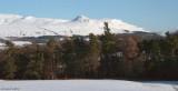 Campsie Hills from near Croftamie