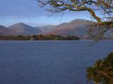 Inchfad and the Glen Luss hills, Loch Lomond
