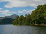 Ben Lomond from Loch Ard